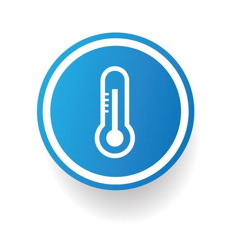 mercury: Mercury design icon on blue button,white background,clean vector