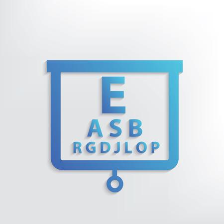 Eye test symbol design