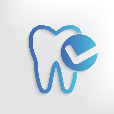 Teeth symbol design