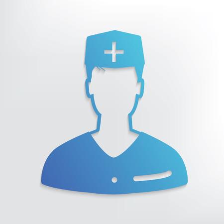 doctor symbol: Doctor symbol design,clean vector Illustration