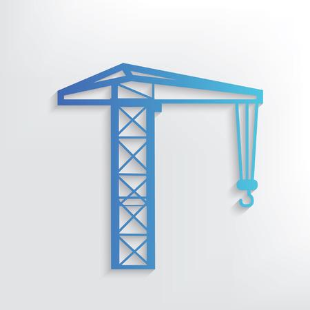 scaffold: Construction symbol design,clean vector
