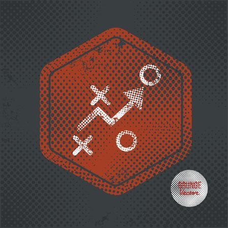 retain: Strategy,stamp design on old dark background,grunge concept,vector