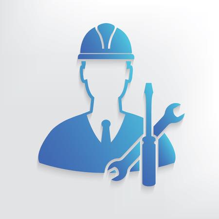 Engineering symbol design,clean vector
