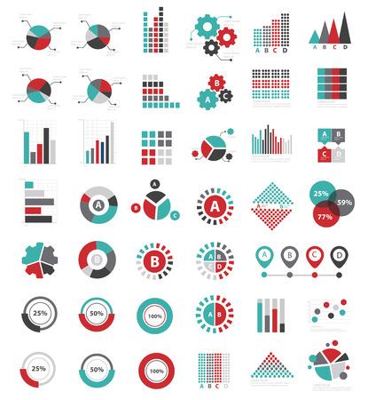 data analysis: Data analysis for info graphic design icon set,clean vector