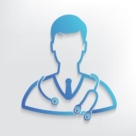 Doctor symbol design,clean vector  イラスト・ベクター素材