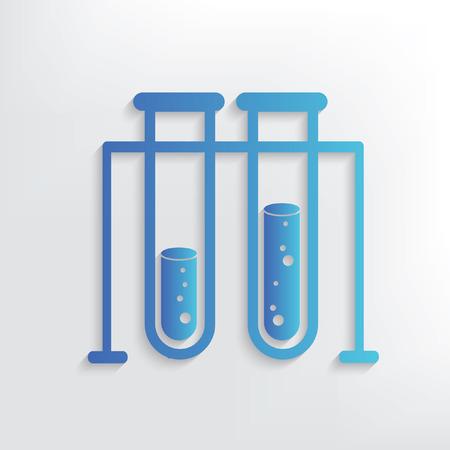 Science symbol design,clean vector Illustration