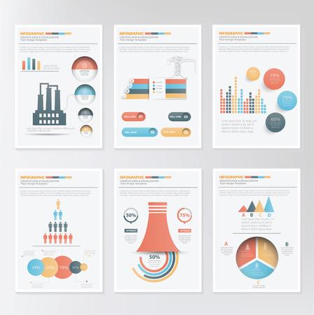 lments graphiques: Info graphic elements design on clean background,clean vector