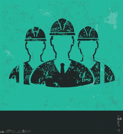 lathe: Teamwork design on green background,grunge vector