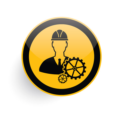 operating room: Engineering icon design on white background,clean vector