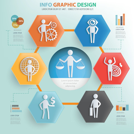 human resource: Human resource concept info graphic design,vector