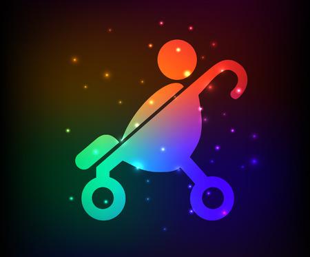 Enfants, la conception de la famille, concept design arc en ciel, article