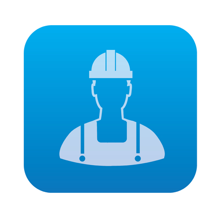 engineering icon: Engineering icon on blue background,clean vector