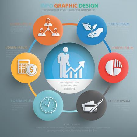 Business concept design,info graphic,vector Illustration