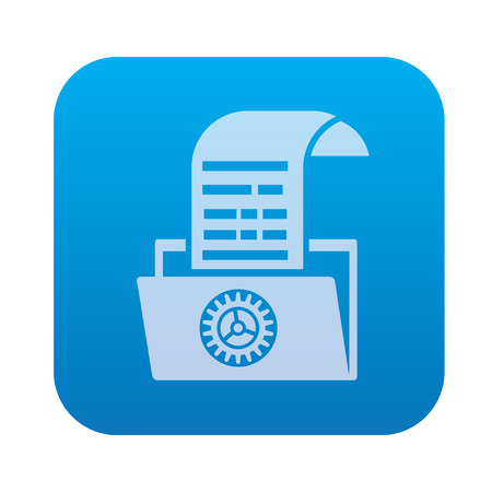 shifting: File transfer,network icon on blue background,clean vector