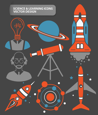 smokestack: Industry,cargo,innovation and factory icon set,clean vector Illustration