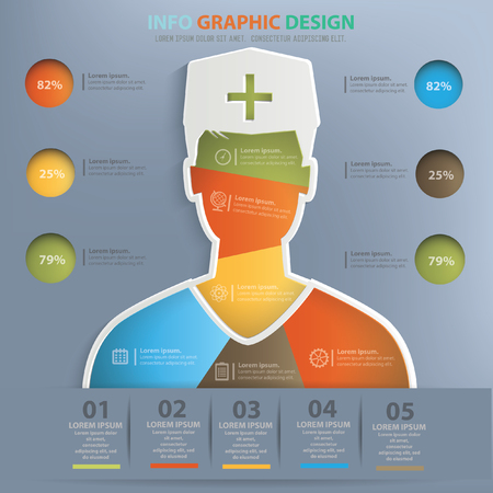 fullbody: Doctor design,vector Illustration