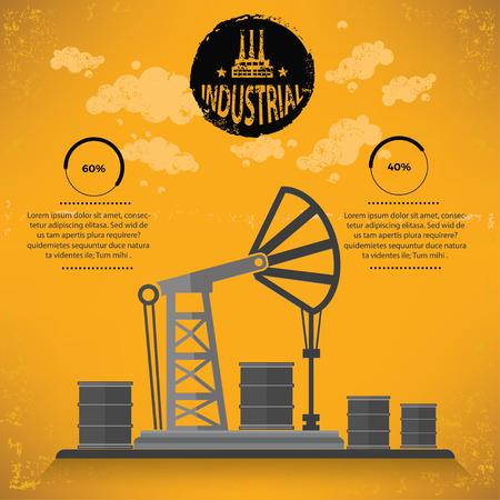 industry: Oil industry design,vector