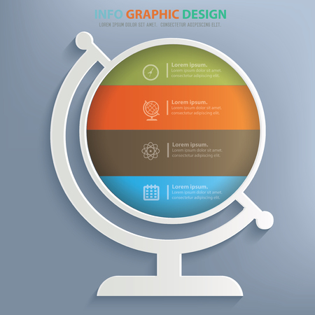 picto: Global design,vector