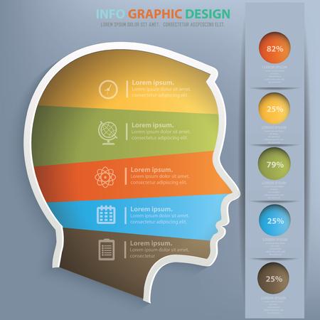 Head design,vector Stock Vector - 57654467