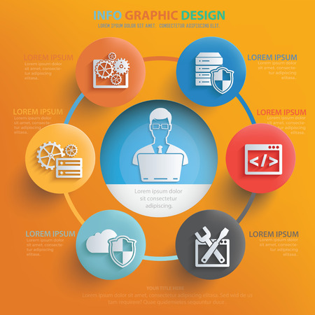 ADMIN: Admin,development design,vector Illustration