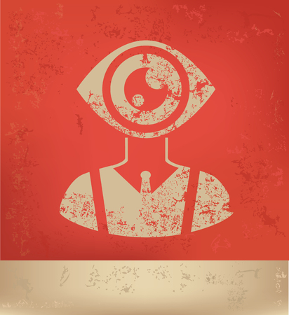 human eye: eye human design,vector