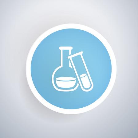 computer scientist: Science concept design,vector