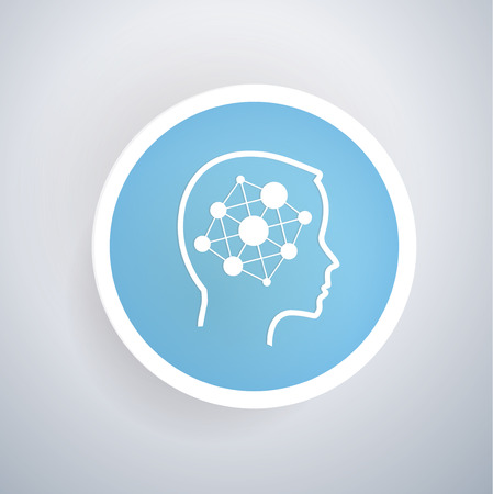 Brain idea concept design,vector