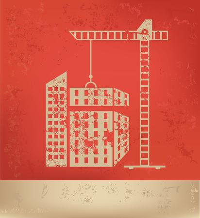 distillery: Building concept design,vector