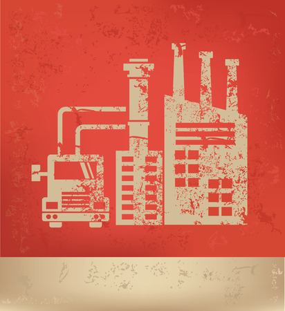Industry concept design,vector