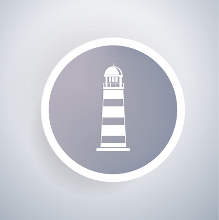 geographical: Lighthouse concept design,vector Illustration