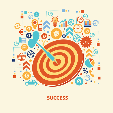 success concept: Success concept  design,vector Illustration