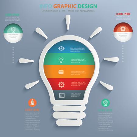 scriibble: Light bulb design,vector