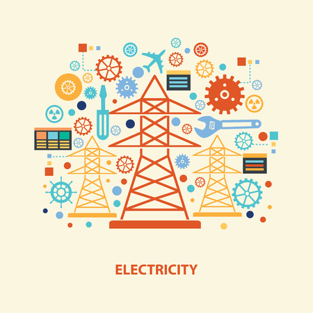 wall plug: Electricity design,vector