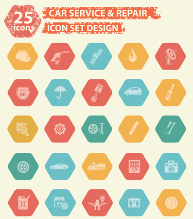 disk break: Car service icons design,vector
