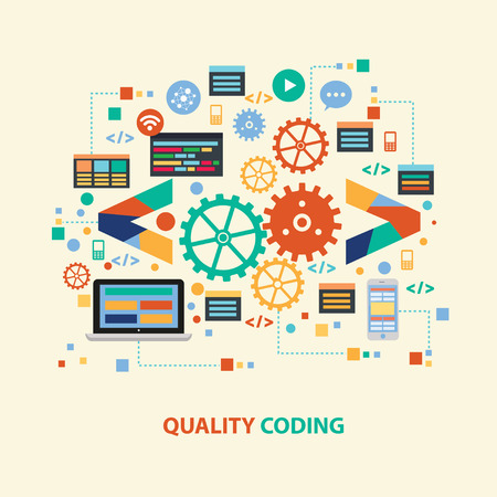 coding: Quality coding design,vector