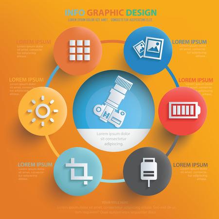 Photography design,vector Illustration