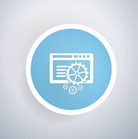 configure: Software design,vector Illustration