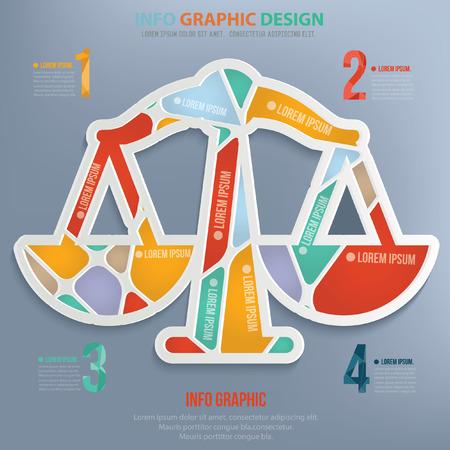 Gerechtigkeit Design, Vektor