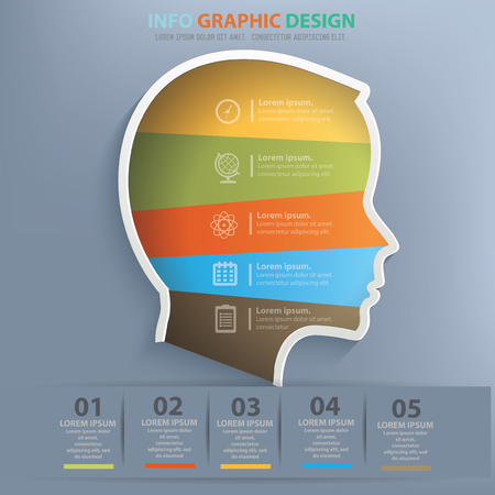 Head design,vector Illustration
