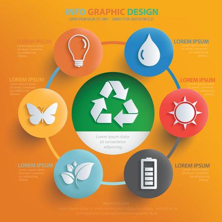 Ecology,nature design,vector