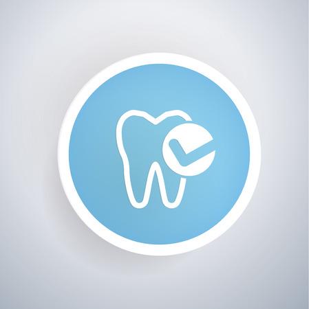 carious cavity: Teeth design,vector