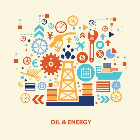 exploration: Oil and energy design,vector Illustration
