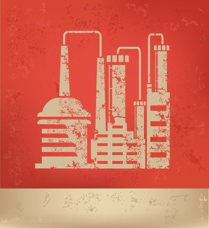 coal power station: Industry design,vector