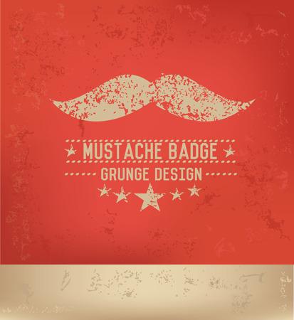moustache: Moustache design,vector
