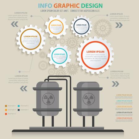 industry: Industry concept design,vector