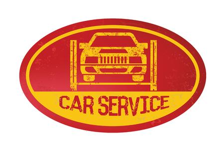 disk break: Car service concept design,vector