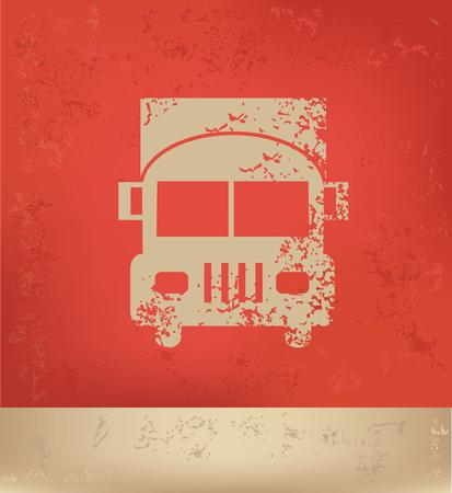 driving range: Truck concept design,vector