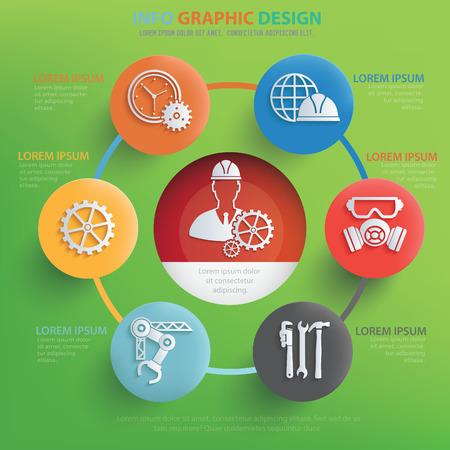 habiliment: Engineering concept design,vector