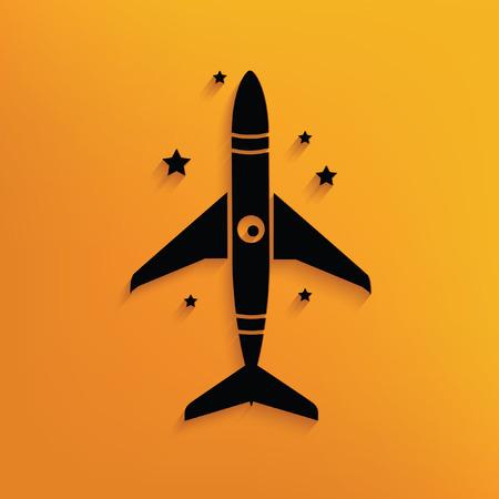 booster: Rocket concept design,vector