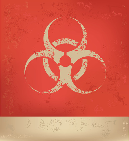 poison arrow: Bio hazard concept design,vector Illustration